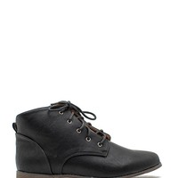 Strip 131 Short Lace Up Boot