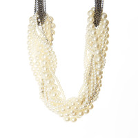 Simply Reese Ivory Layered Brynn Necklace | zulily