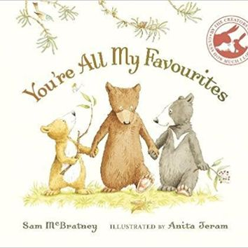 You're All My Favourites Board book – September 1, 2016