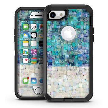 Tiled Paint - iPhone 7 or 7 Plus OtterBox Defender Case Skin Decal Kit