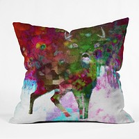 Deniz Ercelebi Blinded Throw Pillow