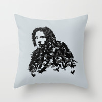 Jon Snow - Game of Thrones Throw Pillow by Savousepate