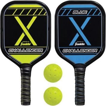 Franklin Pickleball-X 2-Player Wooden Paddle and Ball Set