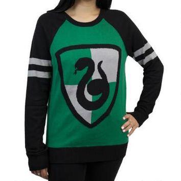 Slytherin Crest Juniors Knit Sweater |