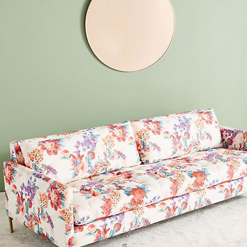 Liberty for Anthropologie Geo Paradise Garden Angelina Sofa