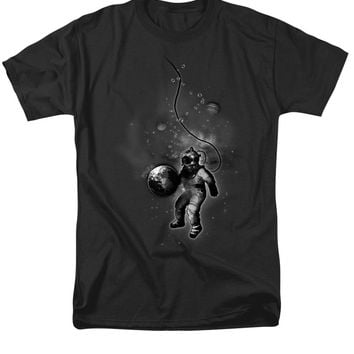 Deep Sea Space Diver Men's T-Shirt  (Regular Fit)