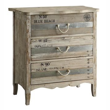 Grand Isle 3 Drawer Chest By Crestview Collection Cvfzr1009