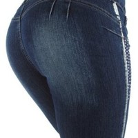 Silver Diva Style DJ1300 Stretch Push-Up Jeans (Levanta Cola) Skinny jeans