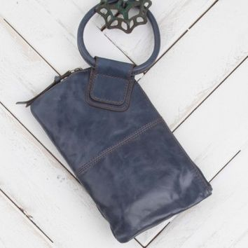 Hobo Sable Soft Ring Wristlet in Ink - Bags & Wallets