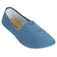 Zoey Canvas Slip On | Shop Shoes at Wet Seal