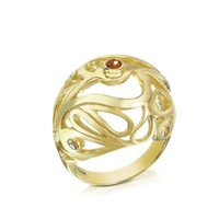 Sho London Designer Rings Gold Vermeil Mari Splash Boule Ring