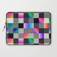 Mondrian Couture Laptop Sleeve by Dood_L