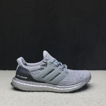 """Ready Stock"" Adidas Ultra Boost 3.0 ¡°Grey Four¡± Men Women Sneaker"