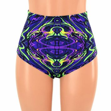 "High Waist ""Siren"" Hot Pants"
