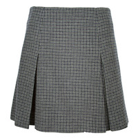 Marc Jacobs High Waisted Plaid Skirt - Wool Plaid Skirt - ShopBAZAAR