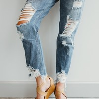 City Overlook Boyfriend Jeans