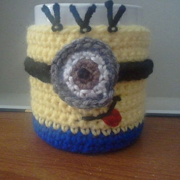 Minion inspired Cup/Mug Cozy