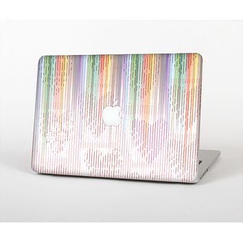 """The Faded Pastel Color-Stripes Skin for the Apple MacBook Air 13"""""""