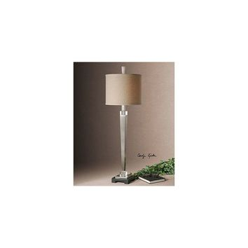 Uttermost Terme 40'' H Buffet Table Lamp with Drum Shade