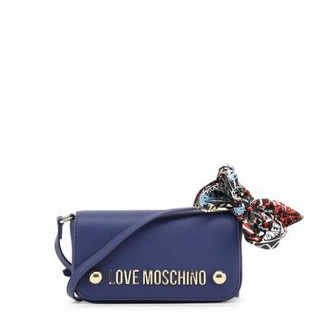 Love Moschino Jc4126Pp16Lv Women Blue Crossbody Bags