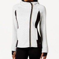 Calvin Klein Performance Asymmetrical Hooded Jacket