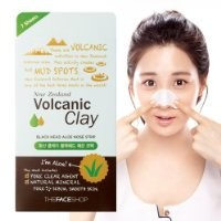 The Face Shop Volcanic Clay Blackhead Aloe Nose Strip x 7ea