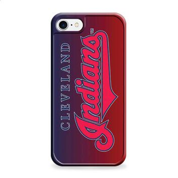Cleveland Indians logo gradient 1 iPhone 7 | iPhone 7 Plus case