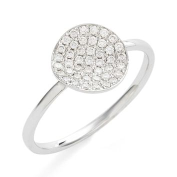 Bony Levy Aurelia Small Diamond Concave Ring (Nordstrom Exclusive) | Nordstrom