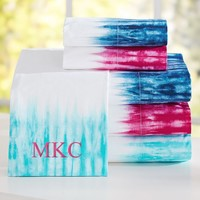 Tie-Dye Cuff Sheet Set
