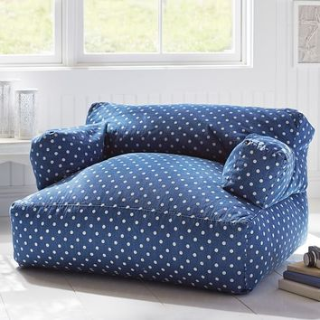 Denim Dottie Eco Lounger