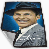 Frank Sinatra Blanket for Kids Blanket, Fleece Blanket Cute and Awesome Blanket for your bedding, Blanket fleece **
