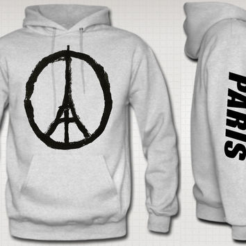 PARIS LOVE PRAY FOR PARIS HOODIE SWEATSHIRT