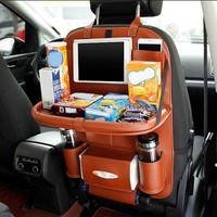 Kids Car Organizer Stroller Travel Bag Multifunction Auto Car Back Seat Organizer