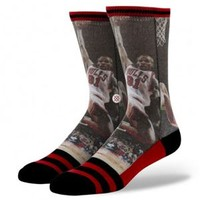 Stance Socks with NBA Legend Dennis Rodman of the Chicago Bulls M32013ROD
