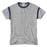 Armhole T-Shirt in Antique Grey