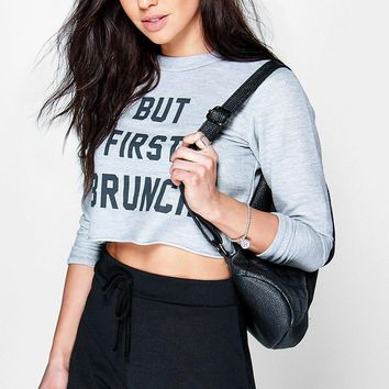 Alison Front High Waist Casual Shorts