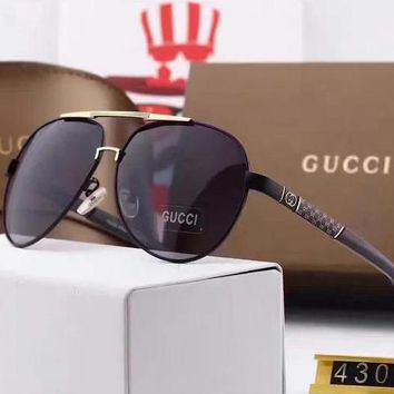Gucci women's beautiful summer sun shading glasses F
