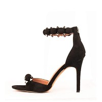 Ankle strap high heel party wedding shoes for women