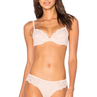 MAISON LEJABY Insaisissable Full Cup Bra in Peach | REVOLVE