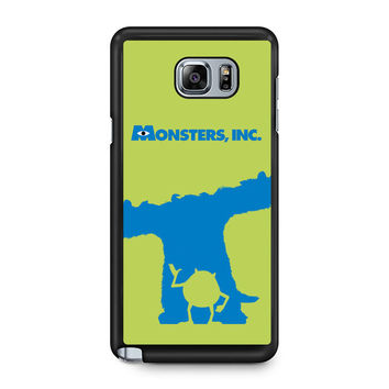 Monster Inc Sulley & Mike Note 5 Case