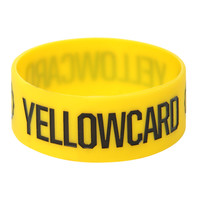 Yellowcard Logo Rubber Bracelet