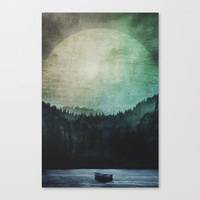 Great mystical wilderness Canvas Print by HappyMelvin