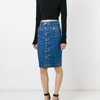 Dsquared2 Denim Pencil Skirt - Vitkac - Farfetch.com