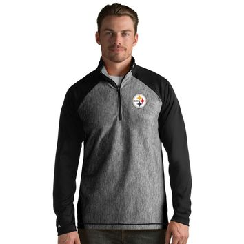 Pittsburgh Steelers Men's Playmaker Lightweight Jacket-Black By Antigua