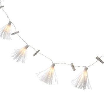 Tassel String Lights with Clips