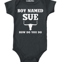 A Boy Named Sue Baby Onesuit