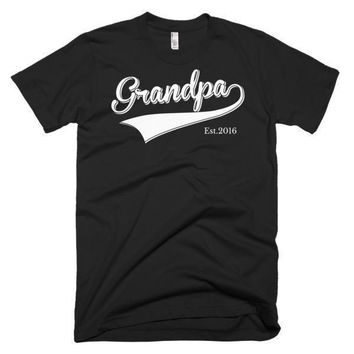 Men's Grandpa Est 2016 T-shirt