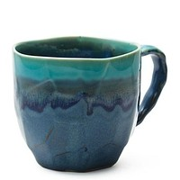 Small Charmed Tea Cup in Blue Green