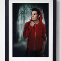Little Red Riding Stiles - MTV Teen Wolf Print