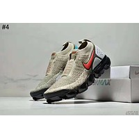 Nike Air Vapormax Moc 2 Tide brand shock-absorbing lace-free air cushion running shoes #4